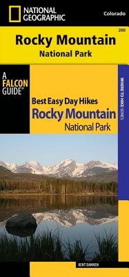 Best Easy Day Hiking Guide and Trail Map Rocky Mountain National Park By Dannen, Kent